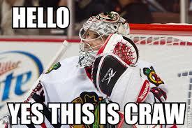Hockey Goalie Memes - hockey laughs the pink puck