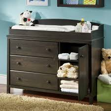 cherry changing table dresser combo baby dresser and changing table quantiply co