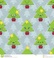 christmas kawaii icons christmas pudding penguin gingerbread