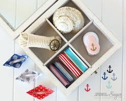 Nautical Themed Giveaways - nautical gift wrapping ideas a spoonful of sugar