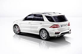 mercedes ml 63 2013 mercedes ml63 amg with up to 550hp priced from 95 865