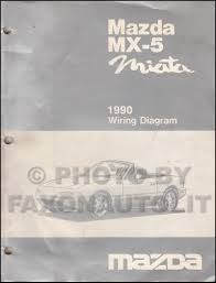 1990 mazda mx 5 miata repair shop manual original