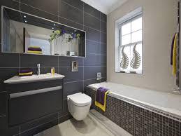 Grey Mosaic Bathroom Bathroom Black And Grey Bathroom Tile