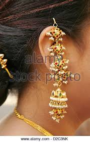 gujarati earrings earring worn by an indian gujarati woman during an indian gujarati