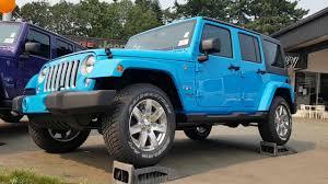 jeep scrambler blue 2017 chief blue jeep wrangler unlimited sahara youtube