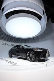 lexus lx new concept lexus reveals all new ls 500h flagship with a 354hp hybrid powertrain