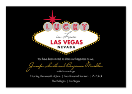 wedding invitations exles lucky in las vegas wedding invitations by invitation consultants