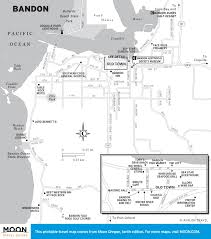 Portland Oregon Map by Travel Maps Of Oregon Moon Travel Guides