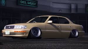toyota celsior extreme camber toyota celsior lexus ls400 laying frame gta 5