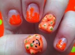 Halloween Nail Art Pumpkin - 50 cool halloween nail art ideas halloween acrylic nails cpgds