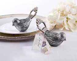 bottle opener favors antiqued bird bottle opener my wedding favors