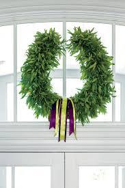 window wreaths festive christmas wreath ideas southern living