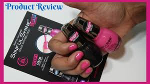 sinfulcolors sinful shine nail color gel tech tutorial and review