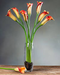 Calla Lily Vase Life Calla Lily Bud Silk Flower Stems For Casual Decorating At Petals