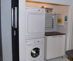 Laundry Room Storage Ideas For Small Rooms by Laundry Room Stackable Washer Dryer Yahoo Image Search Results