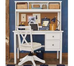 Secretary Desk Hutch by Elliott Desk U0026 Hutch Pottery Barn Kids