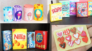 How To Make Dollhouse Furniture From Recycled Materials Diy 10 Easy Miniature Doll Food Crafts You Must Try 1