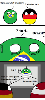 Meme Brazil - germany what time is it 7 minutes to 1 7 to 1 brazil 7 1 7 1 7 1