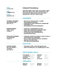 clean modern resume design administrative assistant simple resume templates 75 exles free download