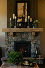 painting lava stone fireplace remove rock renovations before and