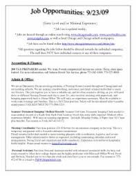 Sample Free Resume by Examples Of Resumes 93 Awesome Simple Resume Samples For