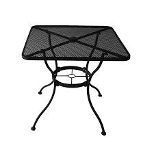 Images Of Square Garden Furniture - garden treasures square patio bistro steel dining table with