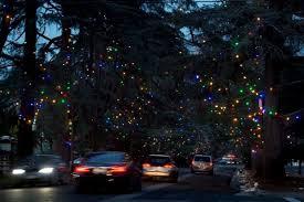 Christmas Lights For Cars How The Famous Trees Of Altadena U0027s Christmas Tree Lane Were Saved