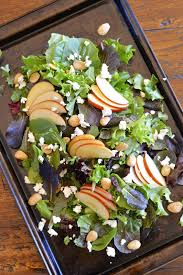 apple almond salad with honey mustard dressing virtually