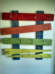 1001 Pallet by My Family Coat Hanger Made Out Of A Single Pallet U2022 1001 Pallets