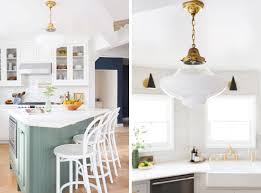 blogger emily henderson u0027s sunny kitchen transformation revealed