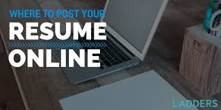 Build Your Resume Online Free by Where To Post Your Resume Online Ladders