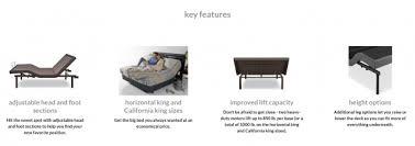 Mantua Adjustable Bed Mantua Rize Clarity Adjustable Base Vermont Bedrooms Rutland