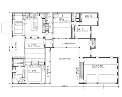 Foyer Plans La Hacienda 4258 4 Bedrooms And 3 Baths The House Designers