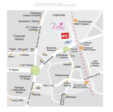 Hyderabad Map Location Map Pranava U0027s Lotus Park Kondapur Hyderabad Pranava