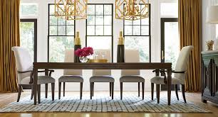 california dining room set w upholstered chairs hollywood hills