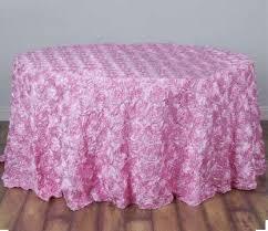 pink rosette table runner rosette tablecloth rosette table cloth rosette fabric