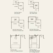 Attic Floor Plans by Castle Rock At Carolina Orchards In Fort Mill South Carolina
