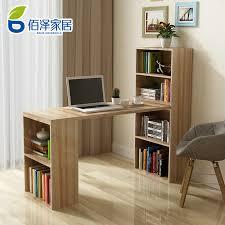 Corner Computer Desk With Bookcase Bookcases Desk Combination Minimalist Yvotube Com