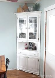 antique white corner cabinet distressed corner cabinet antiqued white corner cabinet distressed