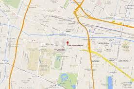 Bangkok Map Bangkok Hotel Near Shopping Area Intercontinental Hotel Bangkok