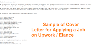 cover letter for upwork huanyii com