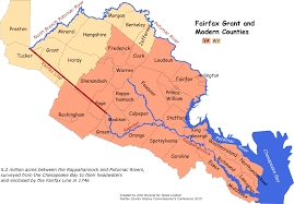 Map Grant Northern Neck Grant U2013 The Story Of Ravensworth