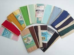 seam binding ribbon vintage rayon ribbon seam binding seam sewing trim lot