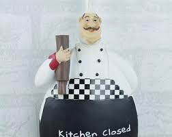 chef ornaments etsy