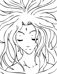 aphrodite coloring page handipoints