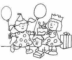 birthday coloring sheet free download