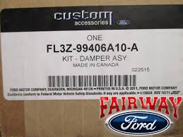 15 thru 17 ford f 150 oem genuine ford parts tailgate damper kit