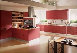 Red Kitchen Accessories Ideas Contemporary Kitchen 20 Recommendations For Red Kitchen Design
