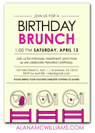 birthday brunch invitations invitations for birthday luncheon fresh birthday brunch