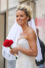 Red Bridal Dress Makeup For Brides Pakifashionpakifashion Kate Gosselin In Wedding Dress Promotes Brides For A Day In New